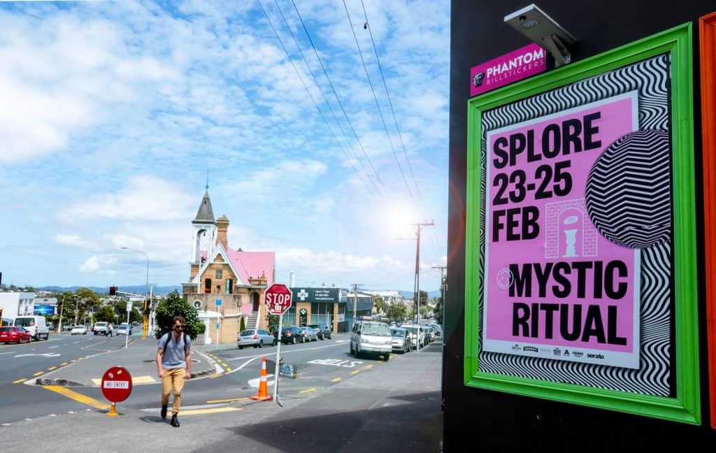 Festivals splore music festival street posters out of home